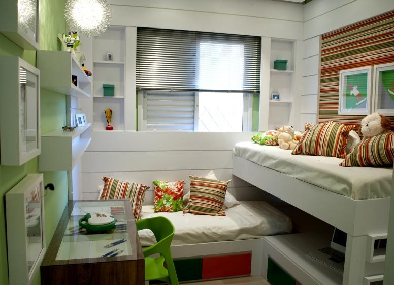 Dormitório 1  - Fatto Torres de São José