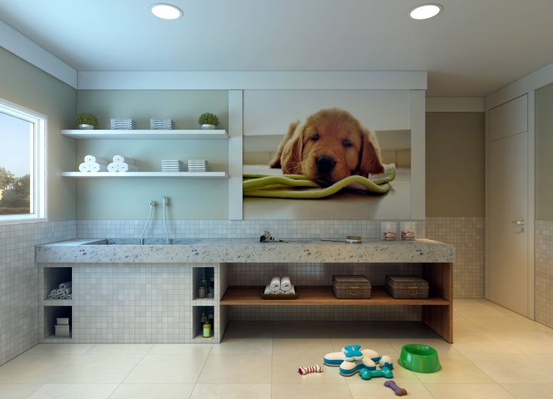 Pet Place - perspectiva ilustrada