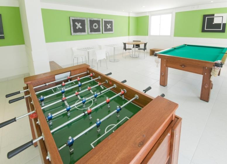 Salão de jogos - Fatto Alphaville