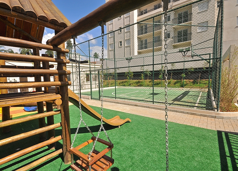 Playground e Quadra Recreativa