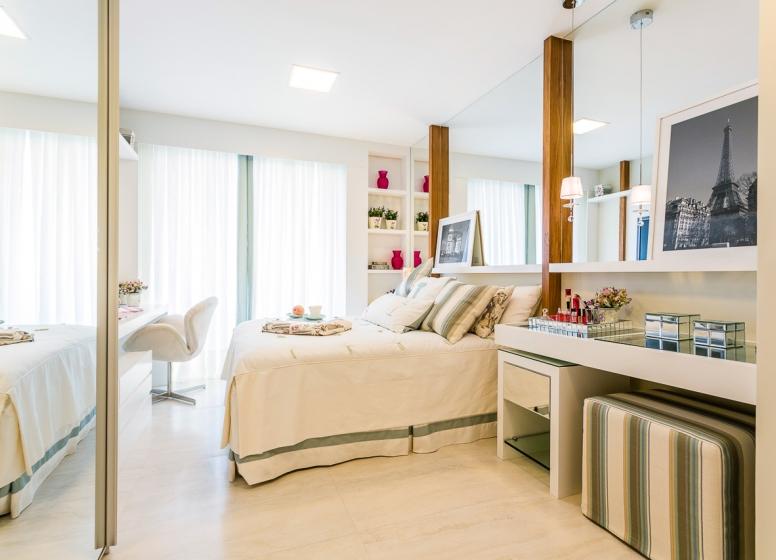 Dormitório - Infinity Areia Preta