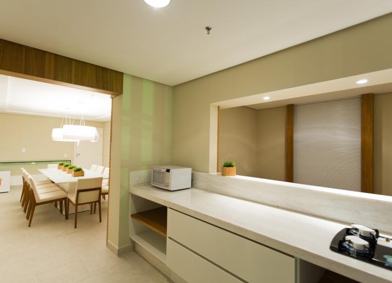 Salão Gourmet - L'Acqua Condominium Club