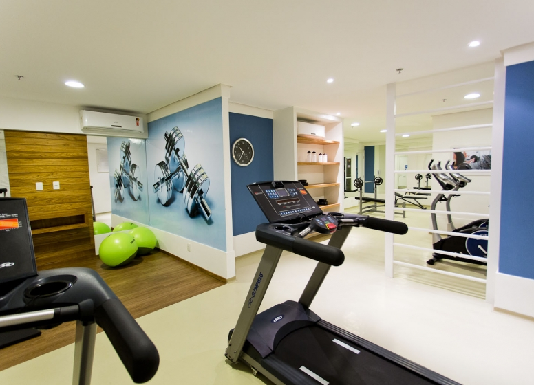 Fitness - Sttilo Clube Residence