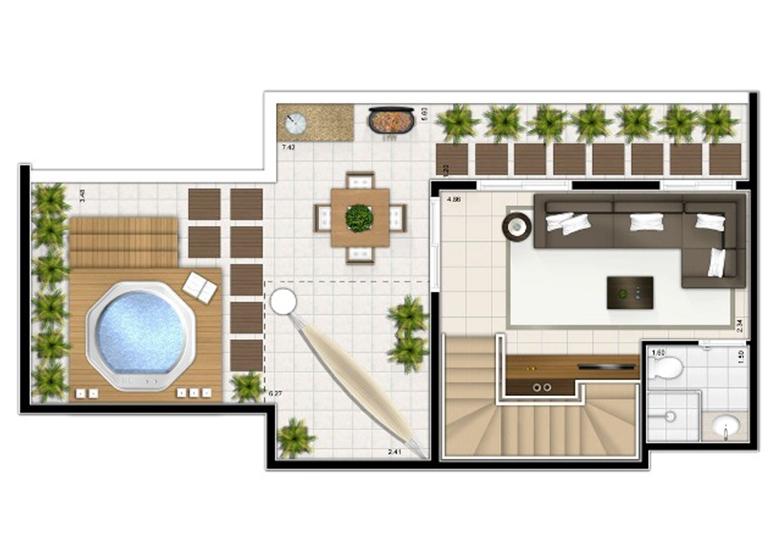 Duplex Superior 2 dorms. 115m²