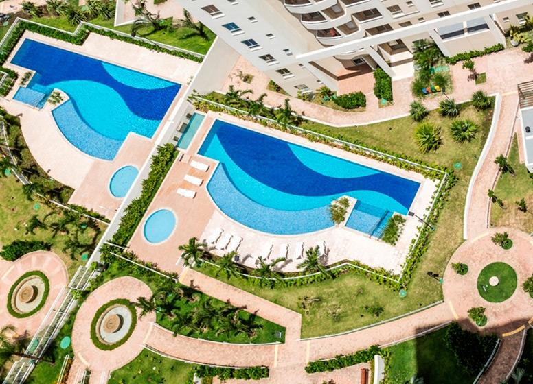 Complexo Aquático - Vita Residencial Clube