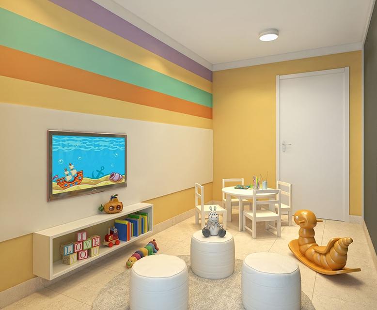 Brinquedoteca - perspectiva ilustrada - Plano&Morumbi