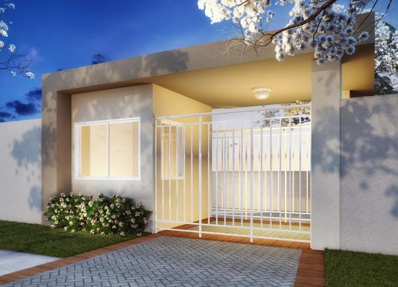 Portaria - perspectiva ilustrada - Plano&Jardim Sul