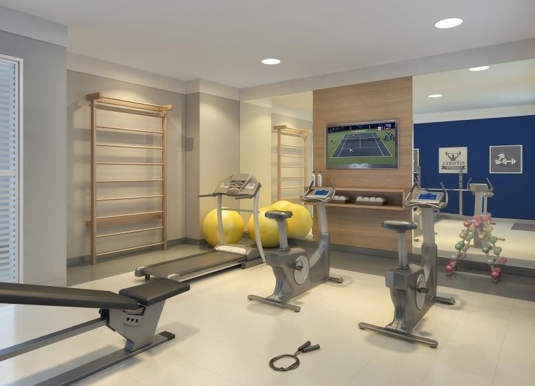 Fitness - perspectiva ilustrada - Plano&Cupecê II