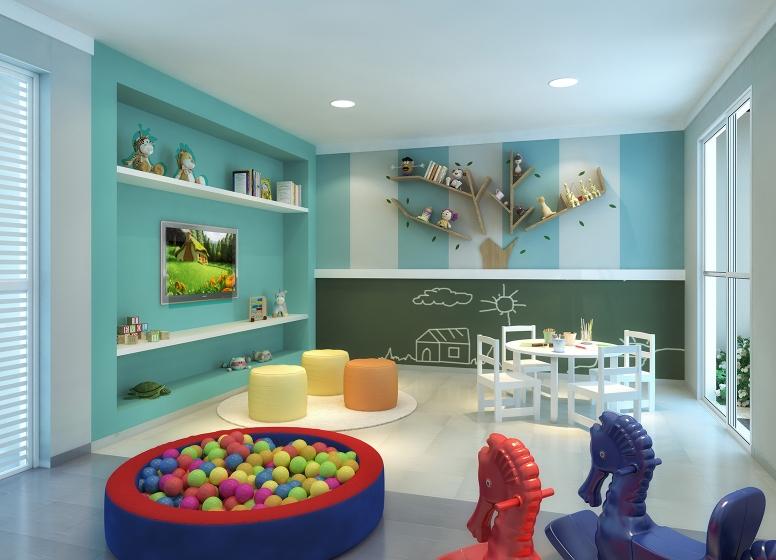 Brinquedoteca - perspectiva ilustrada - Plano&Cupecê II