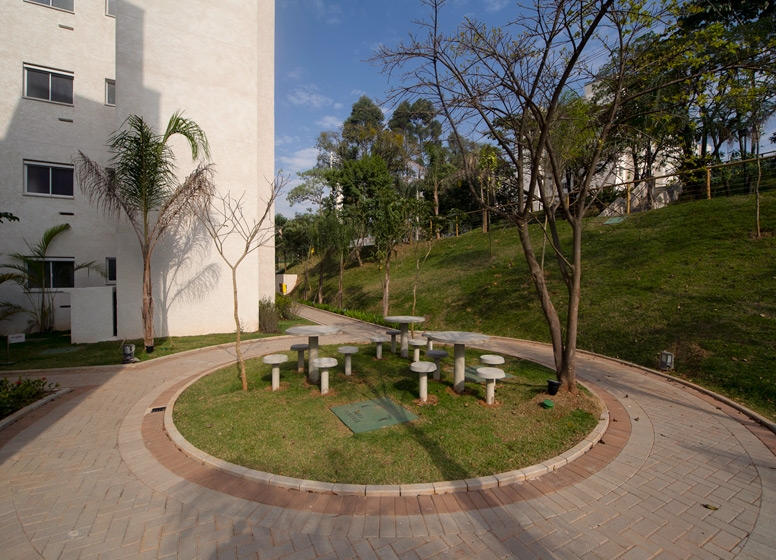 Praça - Vila Arbori Árvores