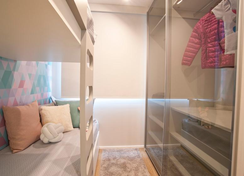 Dormitório 1 - 41 m² - Manuel Dias