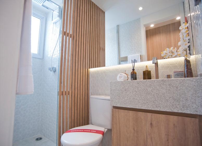 Banho 41 m² - Manuel Dias