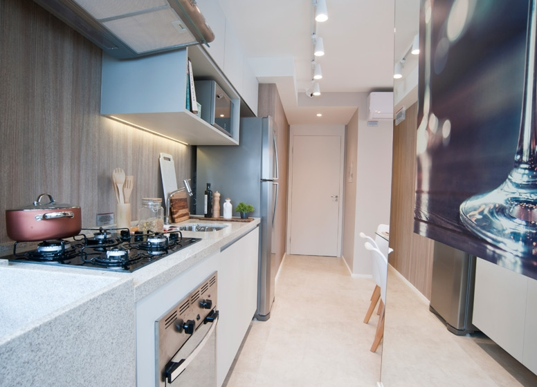 Cozinha 41 m² - Plano&Raposo