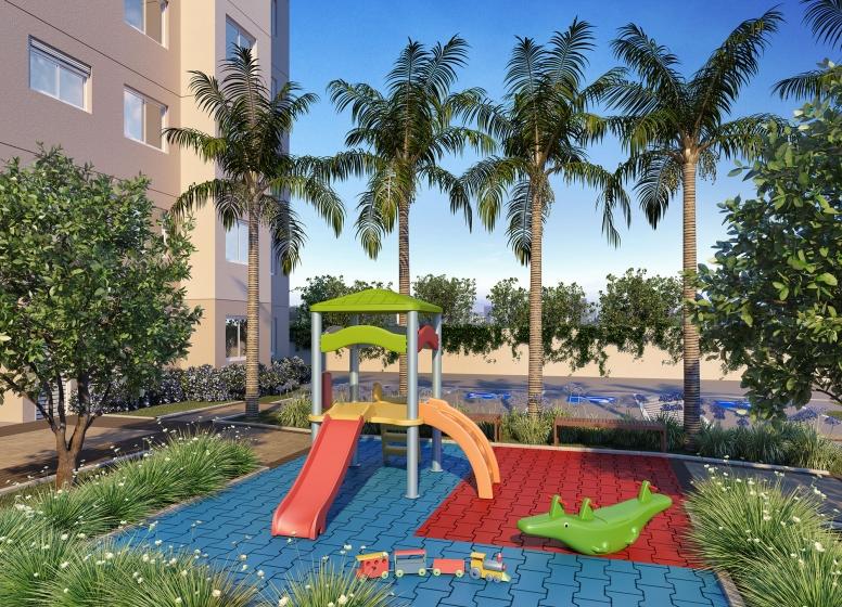 Playground - perspectiva ilustrada - Augusto Carlos Bauman