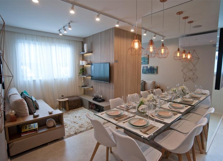 Living 41m² - Plano&Pirituba