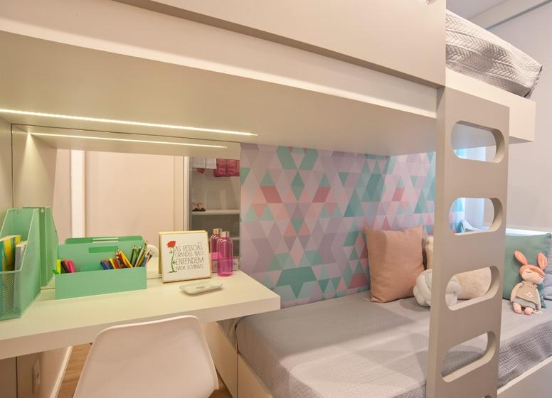 Dormitório I - 41m² - Plano&Pirituba