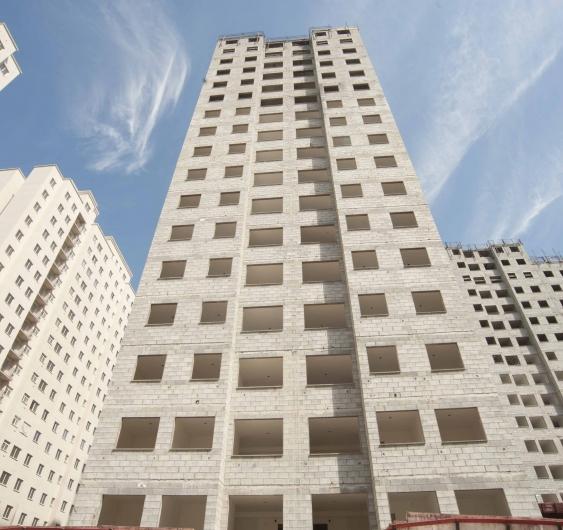Área externa - fachada (Torre C)