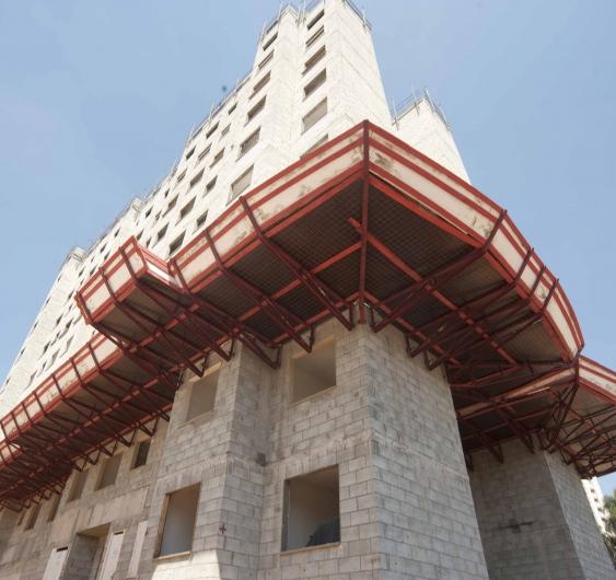 Área externa - fachada (Torre A)
