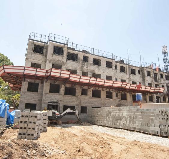 Área externa - fachada (Torre 1)