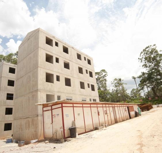 Área externa - fachada (Torre 3)
