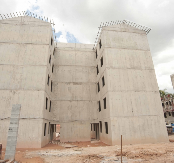 Área externa - fachada (Torre 5)