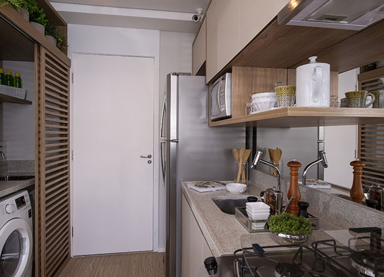 Cozinha 28 m² - Plano&Estação Vila Sônia