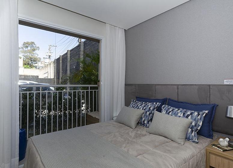 Dormitório 28 m² - Plano&Estação Vila Sônia