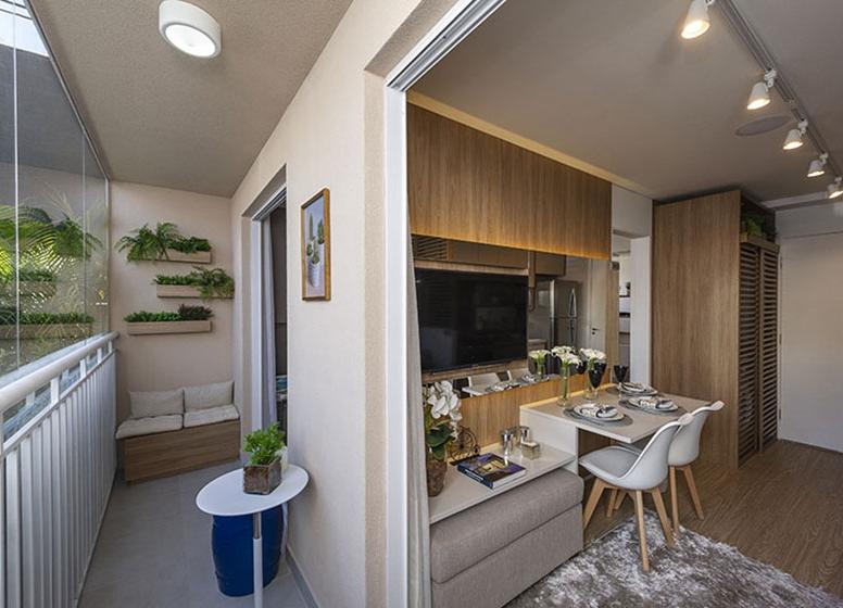 Varanda 28 m² - Plano&Estação Vila Sônia