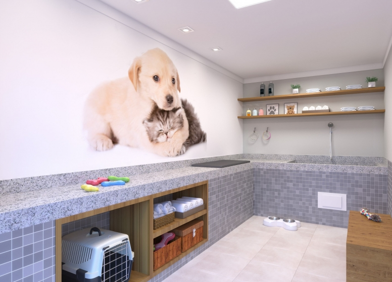 Pet Care - Perspectiva Ilustrada - Plano&Vila Carmosina