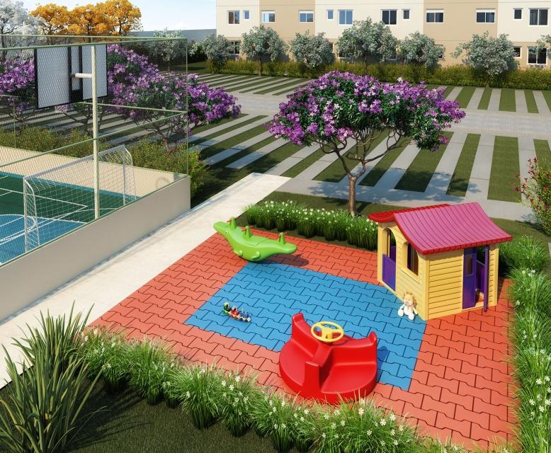 Playground - Perspectiva Ilustrada - Plano&Reserva do Carmo