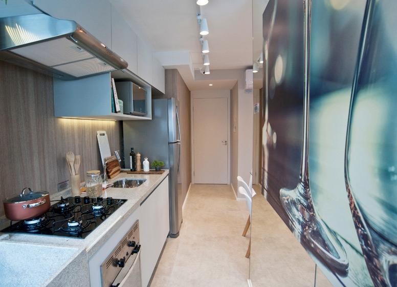 Cozinha 41 m² - Edvard Carmilo I