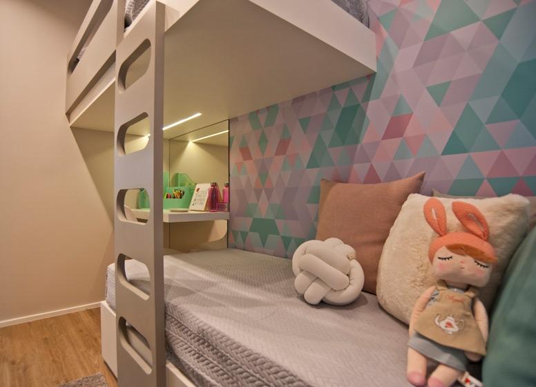 Dormitório 1 - 41 m² - Edvard Carmilo I