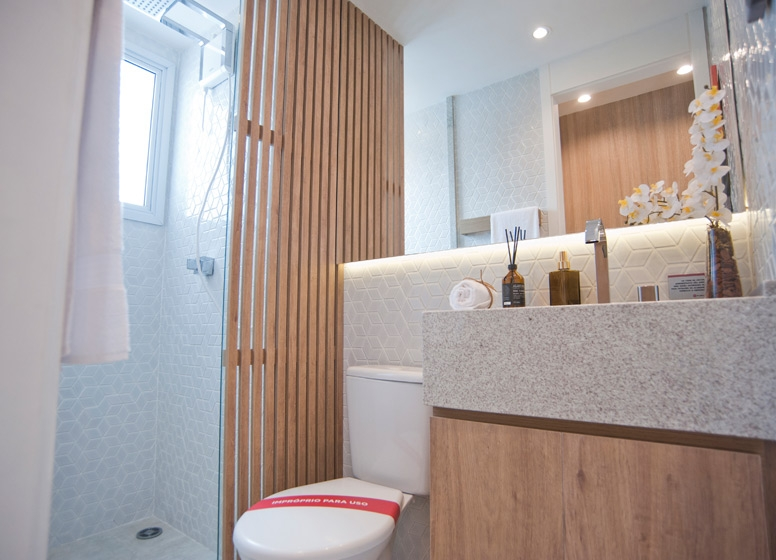 Banho 41 m² - Edvard Carmilo I