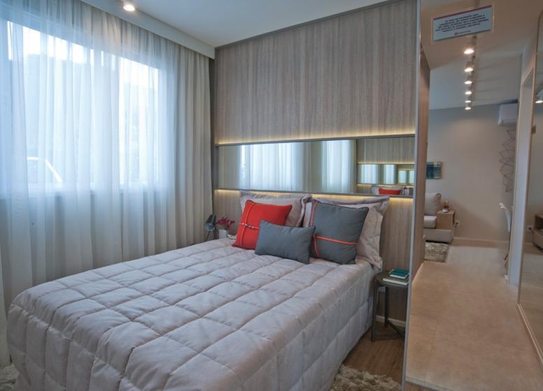 Dormitório 2 - 41 m² - Edvard Carmilo I