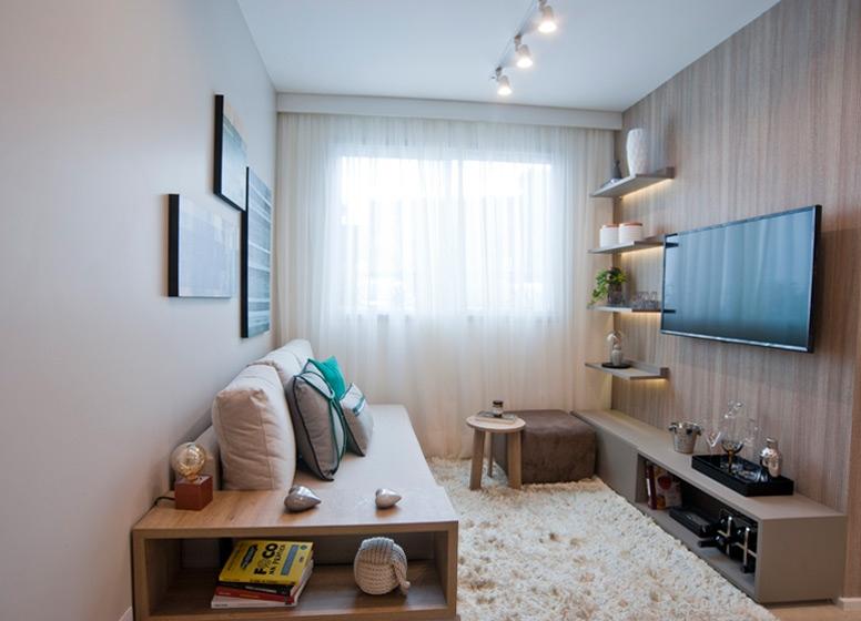 Living 41 m² - Edvard Carmilo I