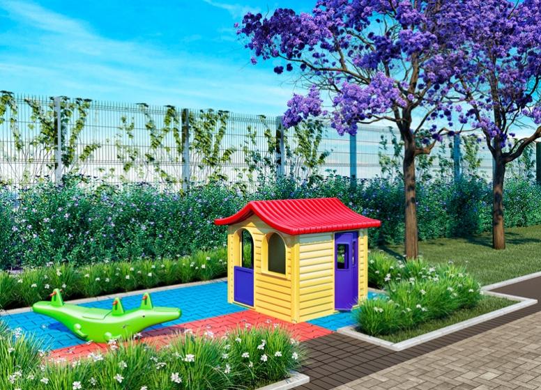 Playground - perspectiva ilustrada - Plano&Reserva do Cambuci