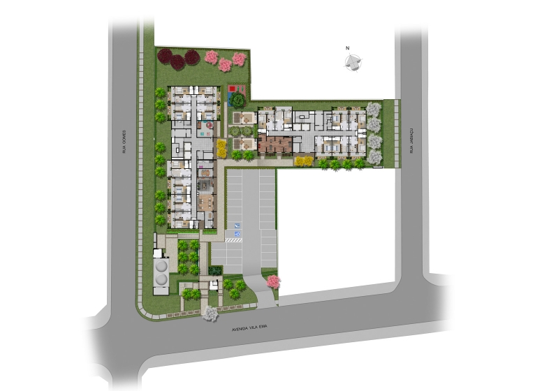 Implantação - Plano&Reserva da Vila