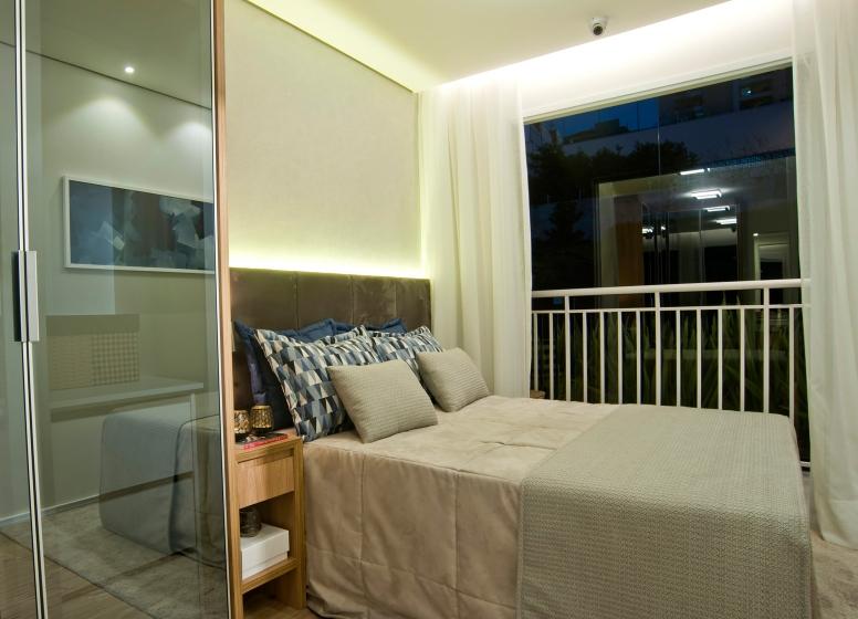 Dormitório - 32 m² - Galeria 635
