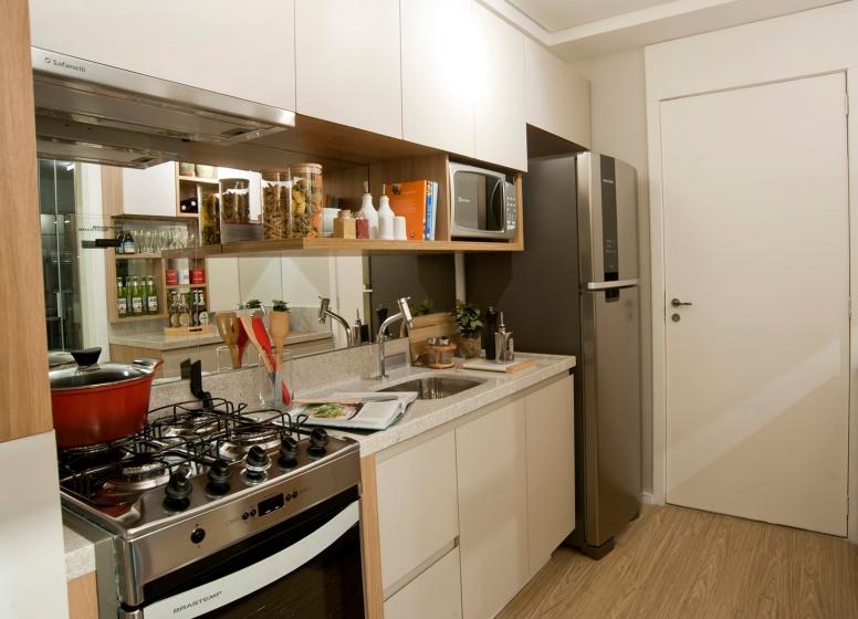 Cozinha - 32 m² - Plano&Bairro do Limão
