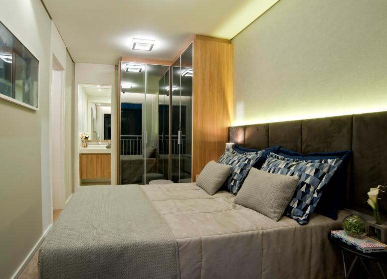 Dormitório - 32 m² - Plano&Bairro do Limão