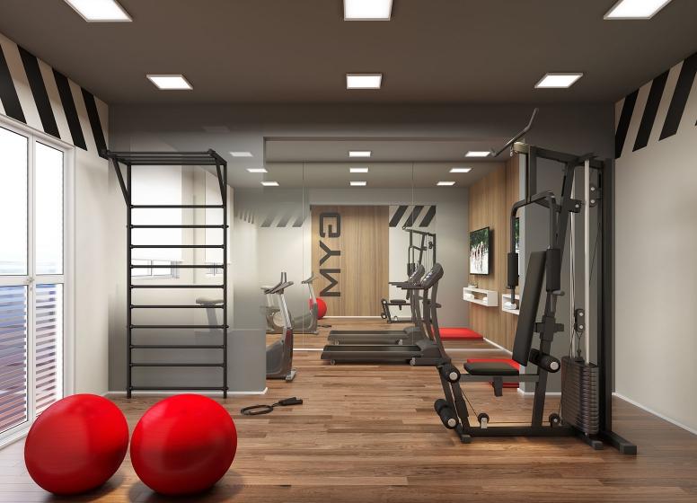 Fitness - perspectiva ilustrada - Vista Parque by Plano&Plano