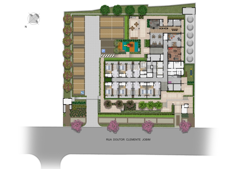 Implantação - Vista Parque by Plano&Plano
