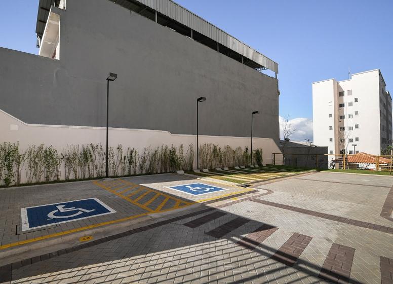 Estacionamento PNE - Plano&Itaquera Fontoura Xavier