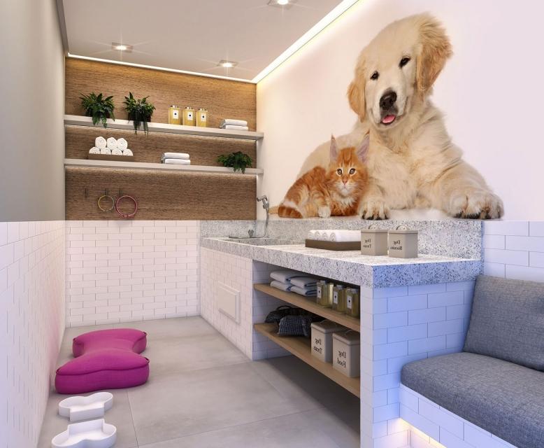 Pet Care -  - Perspetiva Ilustrada - Plano&Reserva Casa Verde