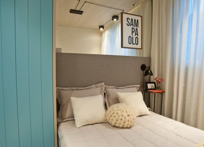 Dormitório - 26 m² - Laguna 430