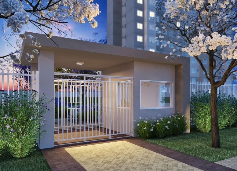 Portaria - Perspectiva Ilustrada - Plano&Jardim Planalto