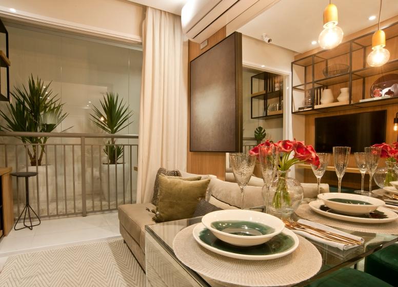 Living - 28m² - Plano&Reserva da Vila