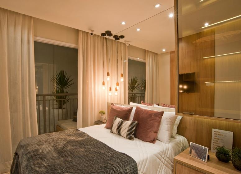 Dormitório - 28m² - Plano&Mooca Praça Lion I