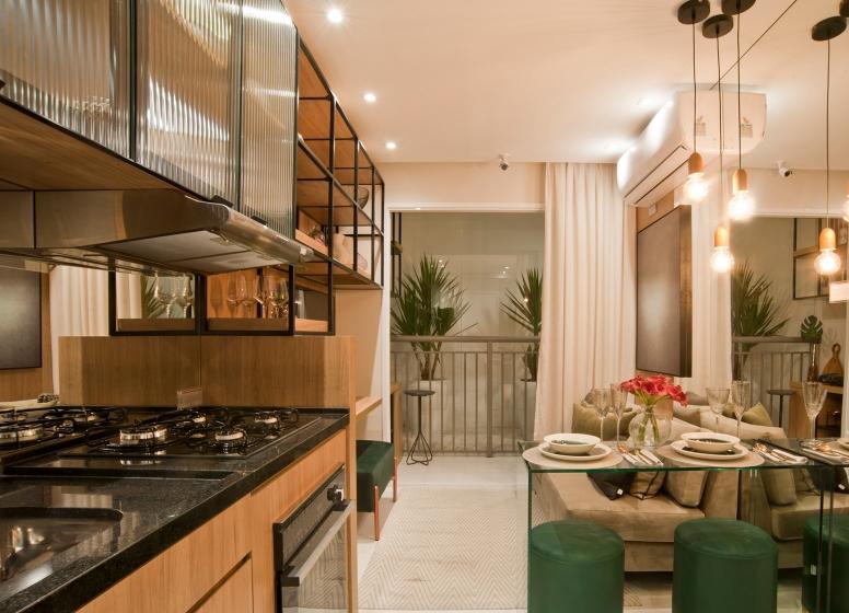 Cozinha - 28m² - Plano&Mooca Praça Lion I