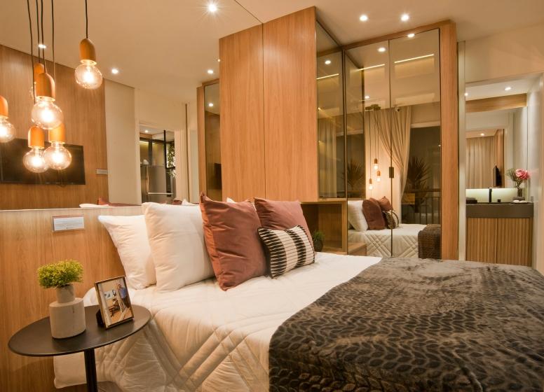 Dormitório - 28m² - Manuel Leiroz I